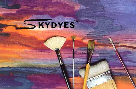 Skydyes - Hand Painted Cottons & Silks for Quiltmakers & Fiber Artists